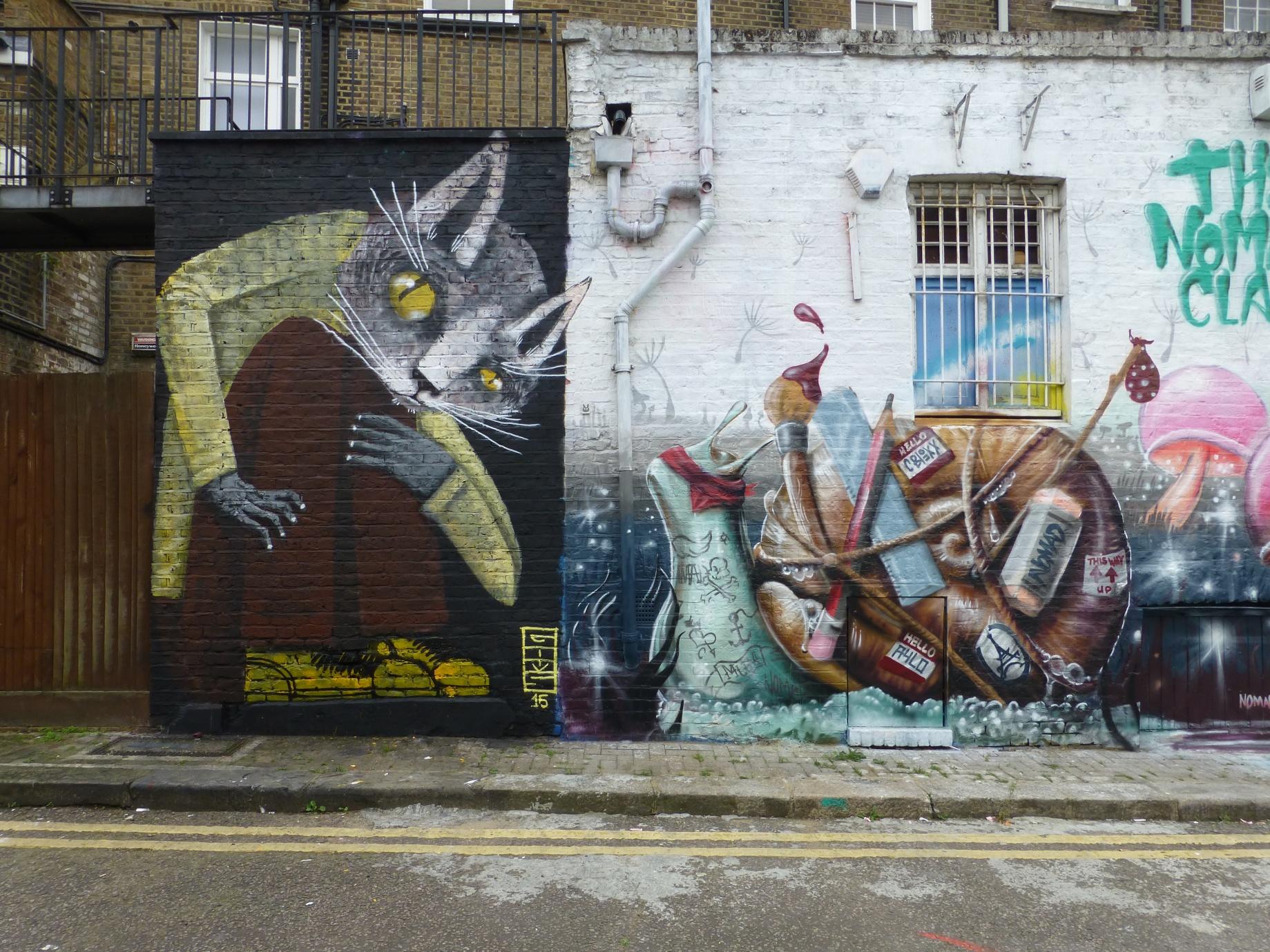 A Street Art Guide To Camden Town | London Calling Blog