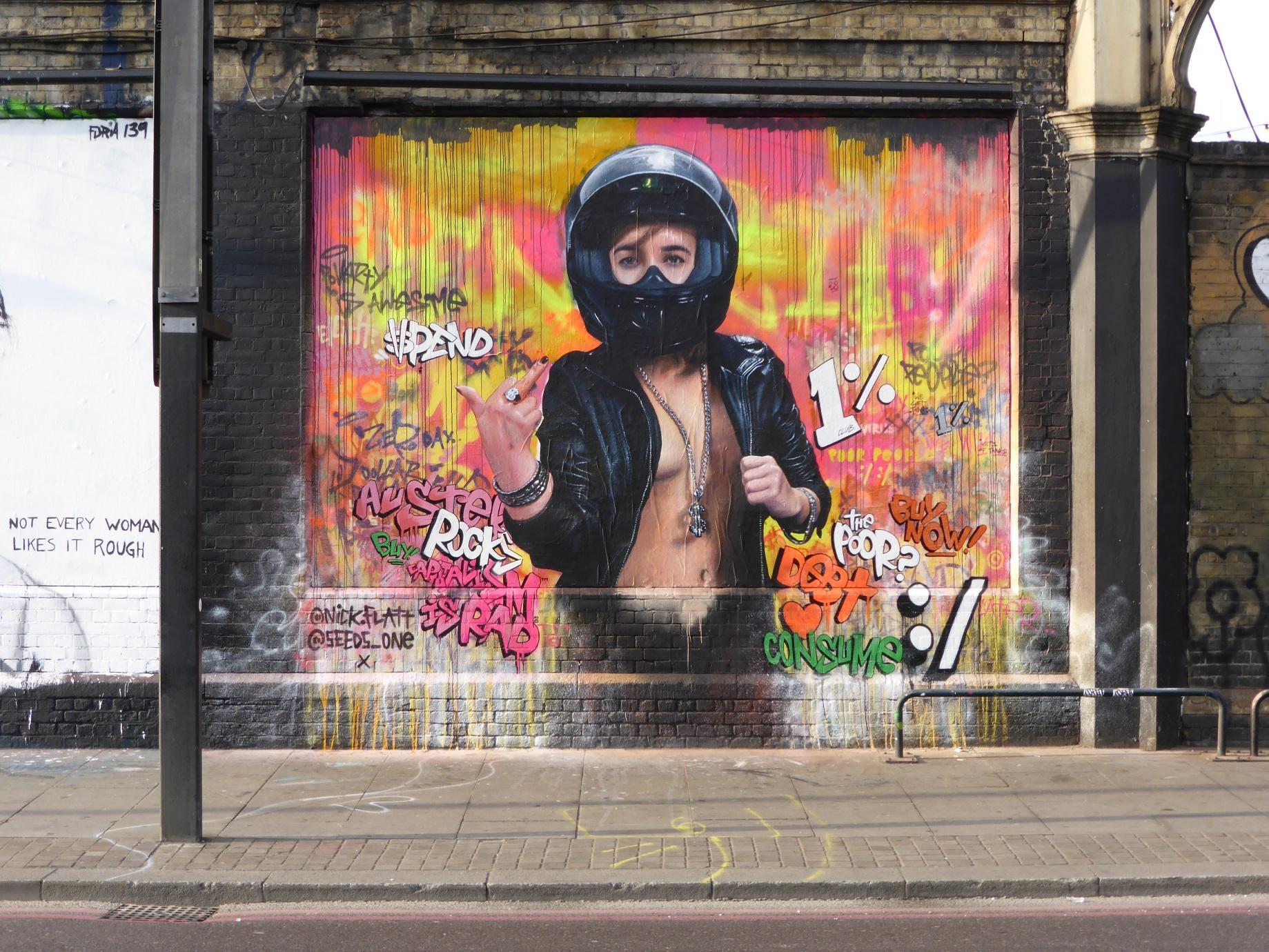 2015 a year of street art in london