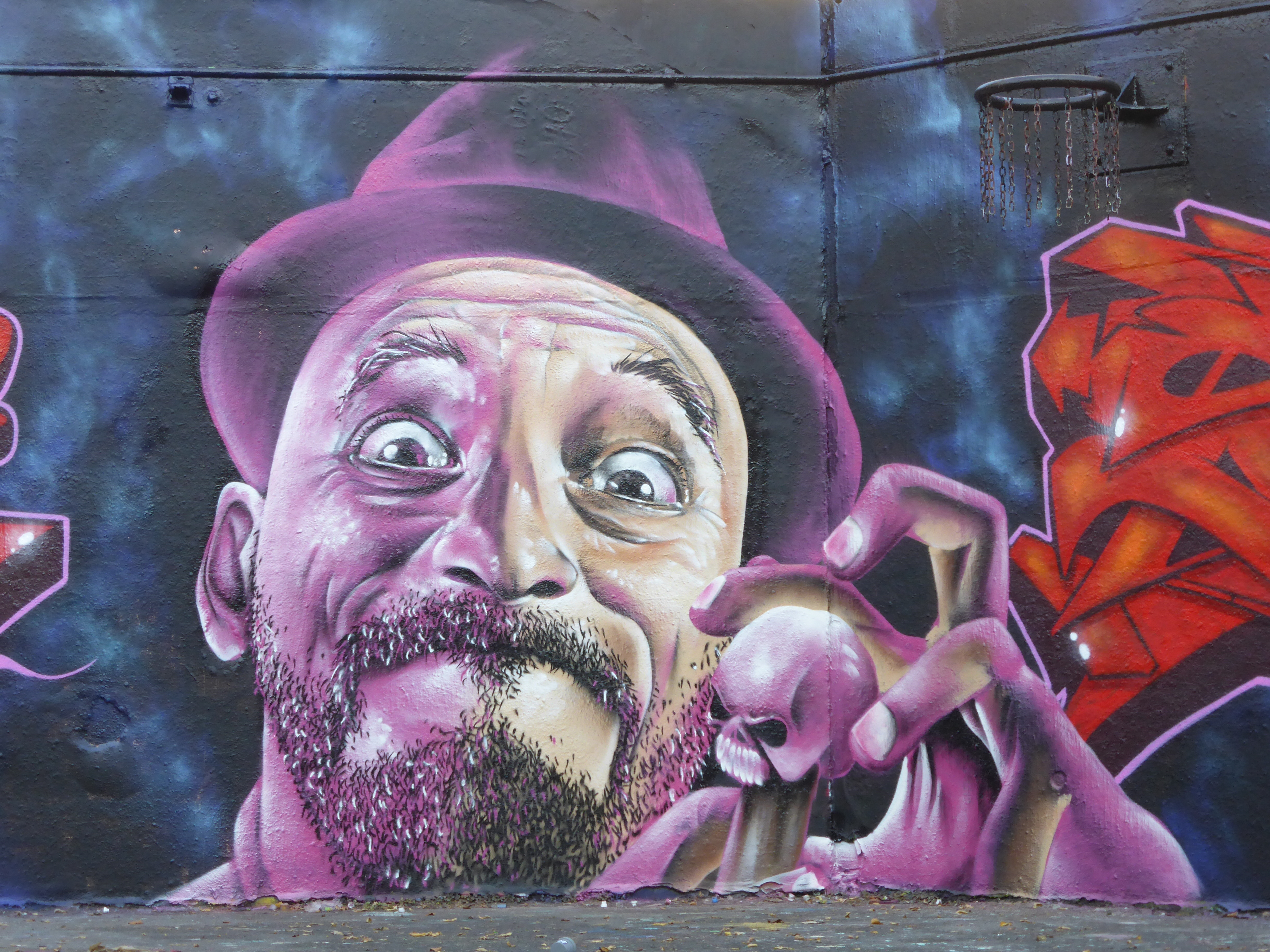 Grafitti fine art 2015 - Work By Ceno2 In Stockwell