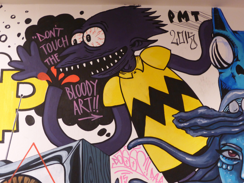Drips & Runs X Tate – Street Art Paint Jam At The Tate Modern ...