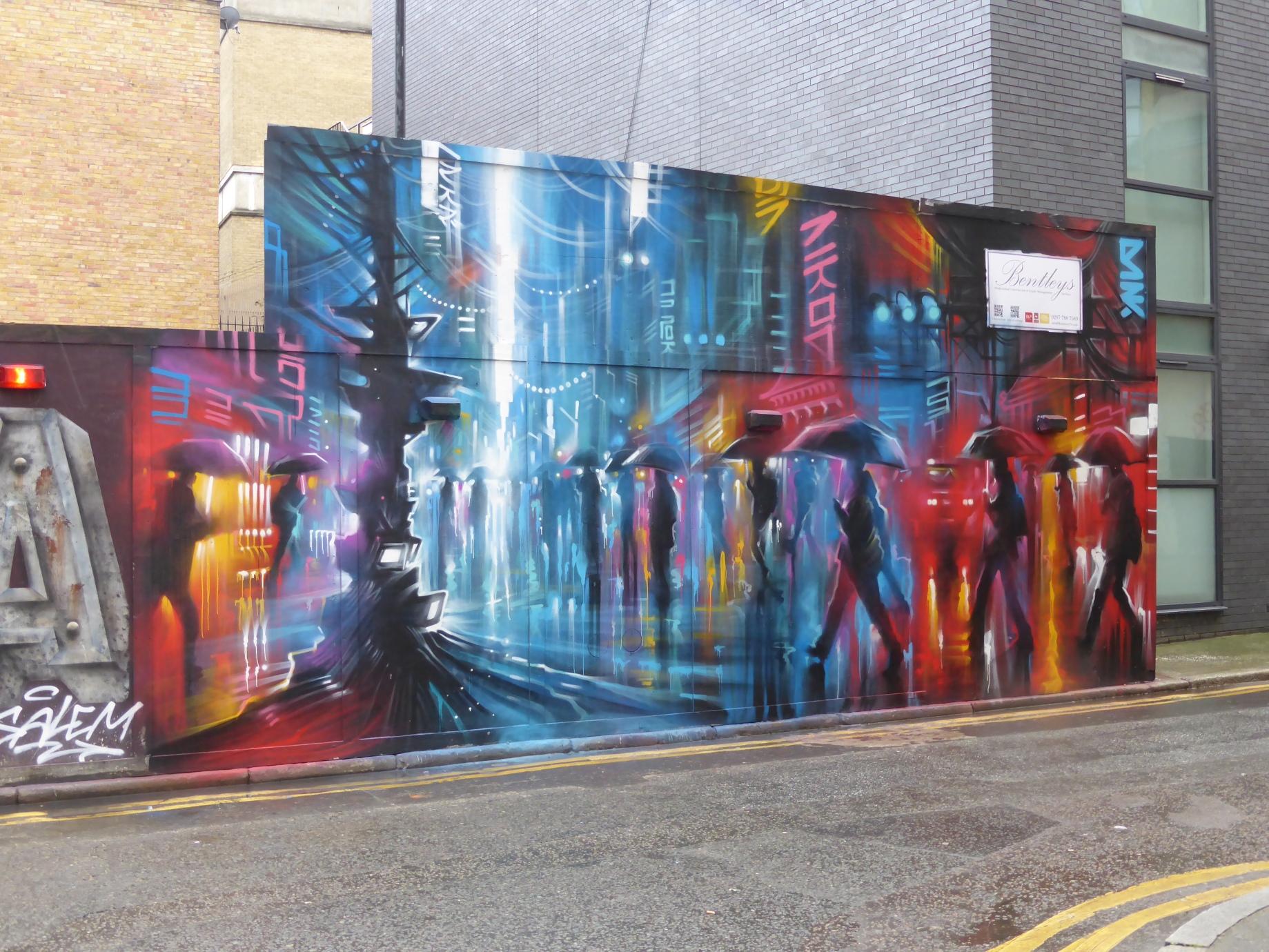 New Dan Kitchener Street Art \'Downtown\' In Brick Lane | London ...
