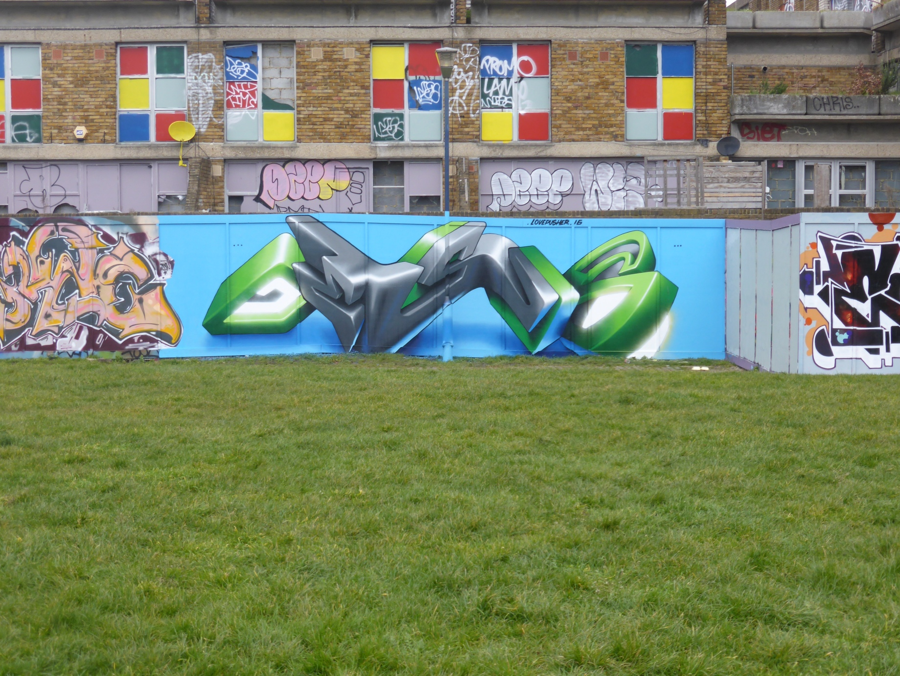 New Lovepusher Graffiti In Brixton London Calling Blog