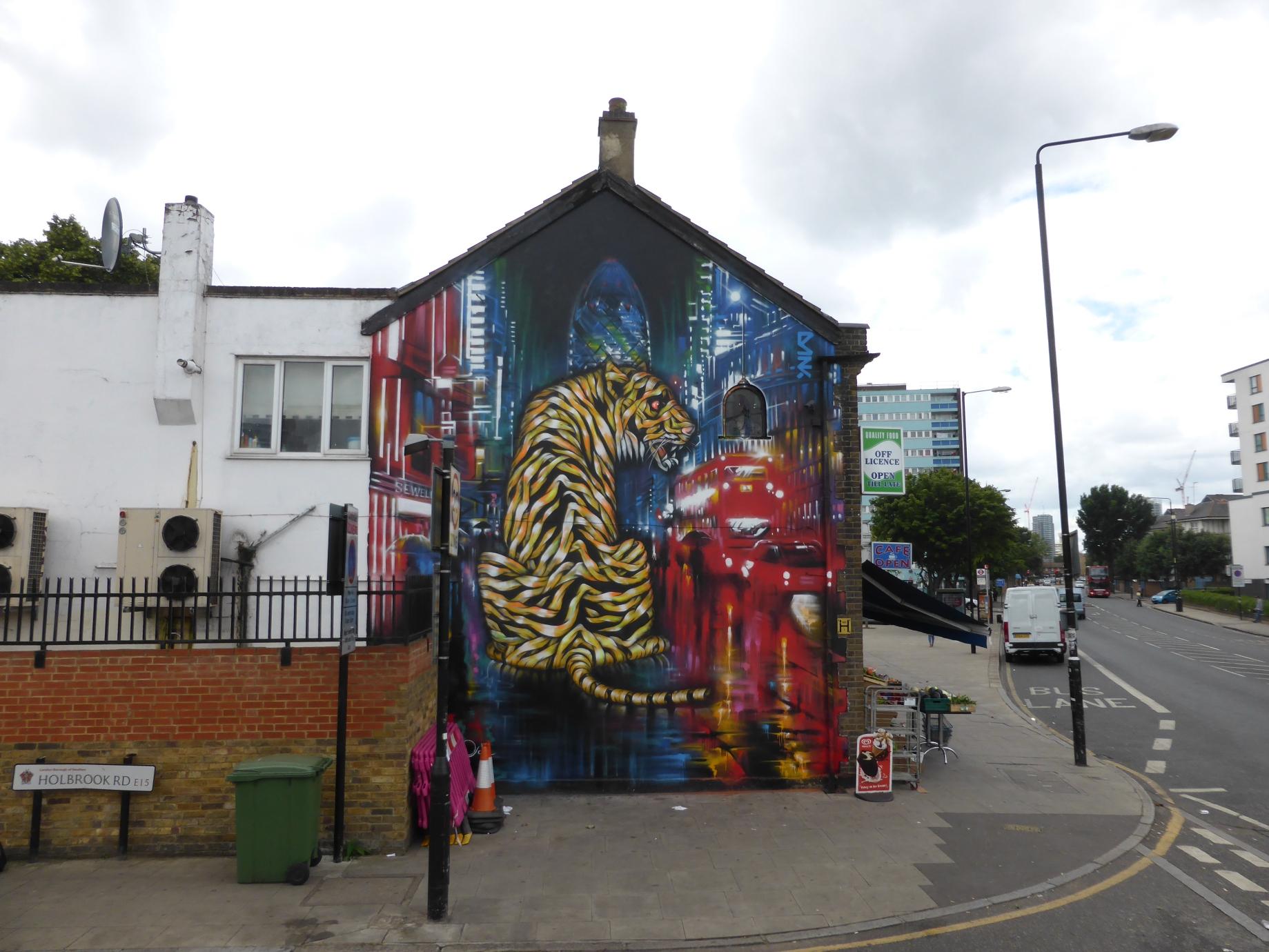 new dan kitchener otto schade street art collaboration urban