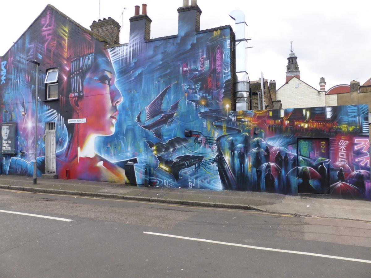New Dan Kitchener Street Art In Stratford London Calling