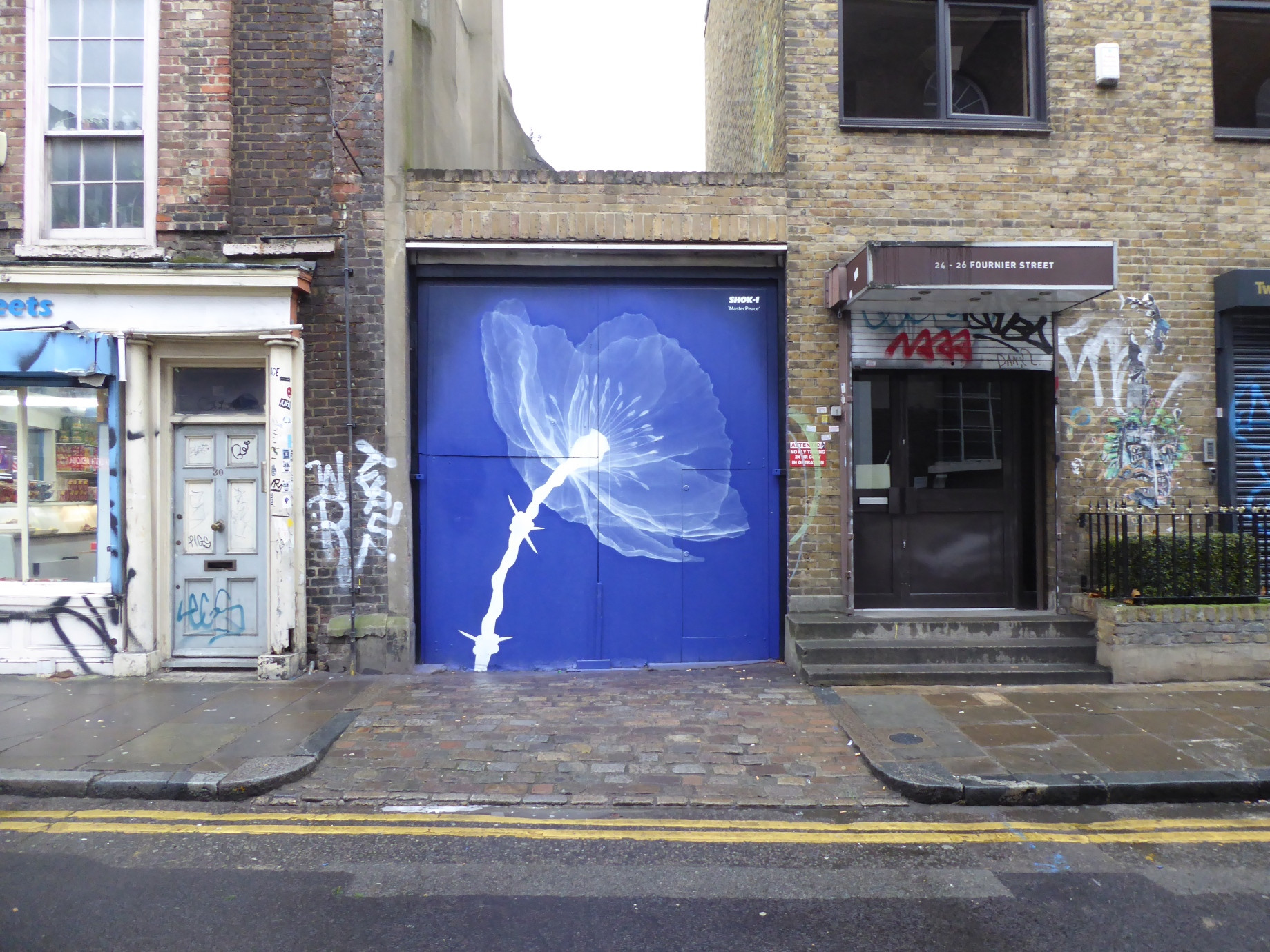 New shok 1 street art masterpeace in brick lane