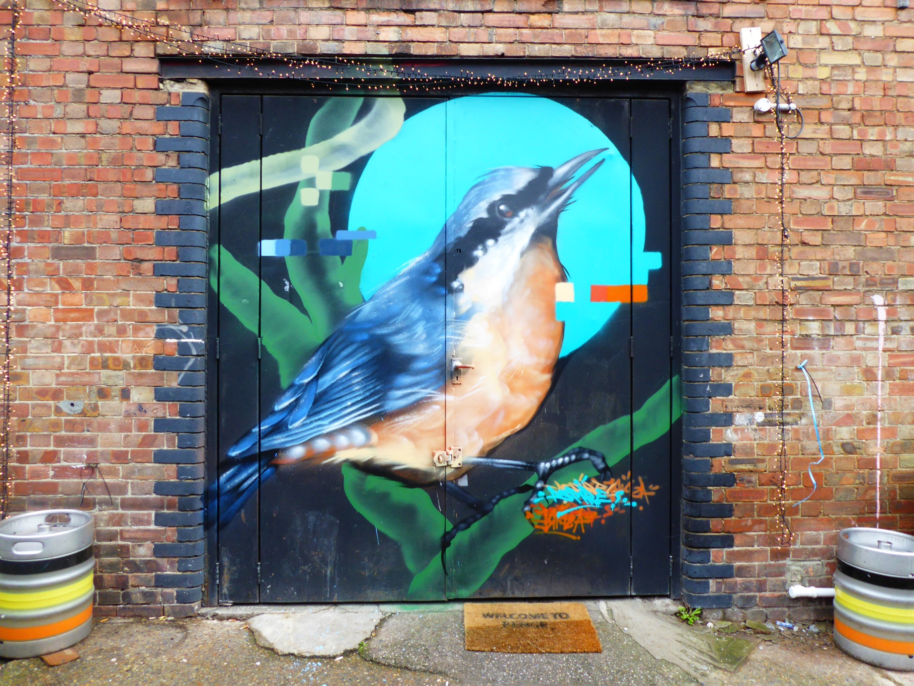 New aspire street art around south london 2018