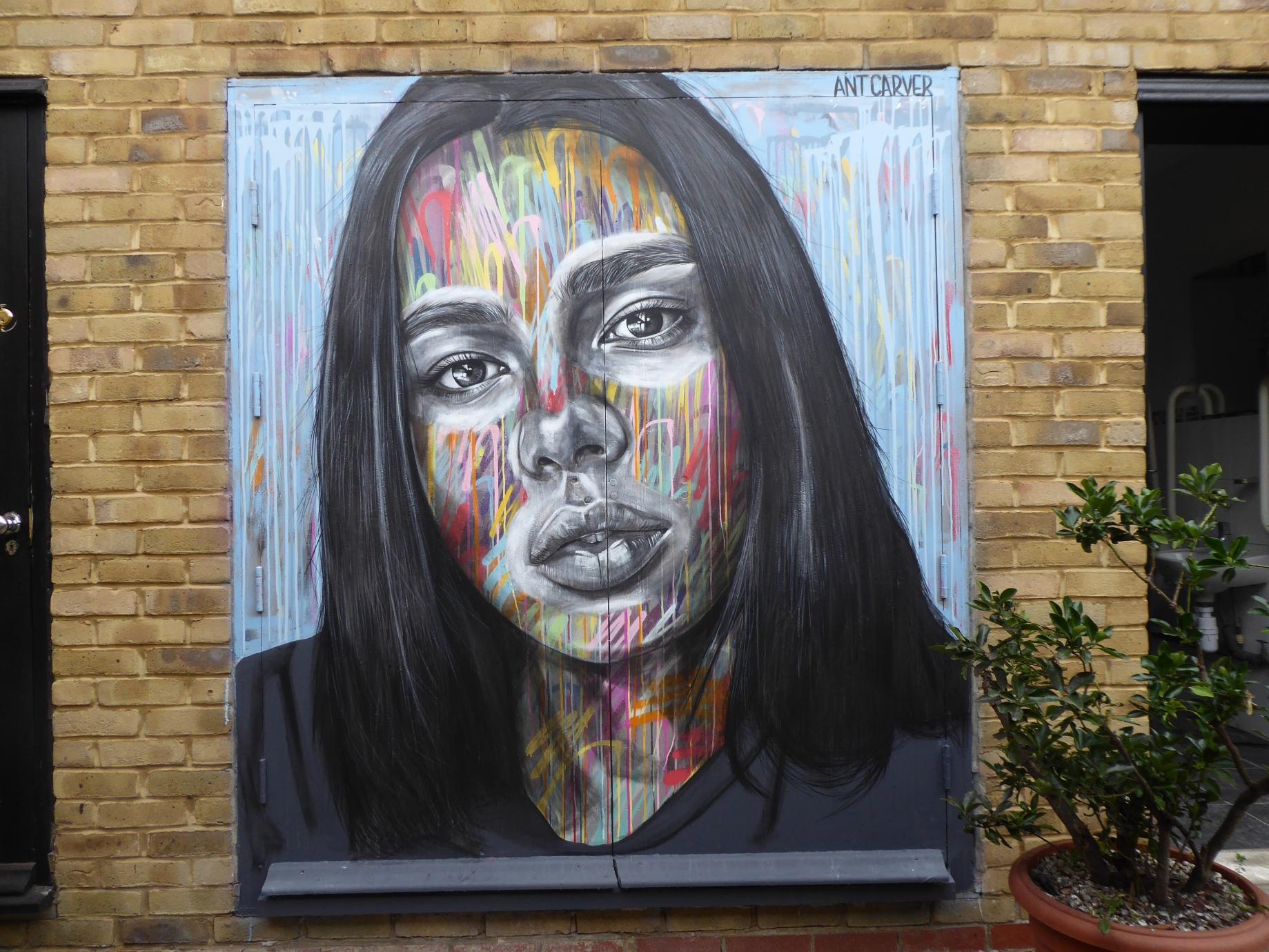 2018 a year of street art in penge