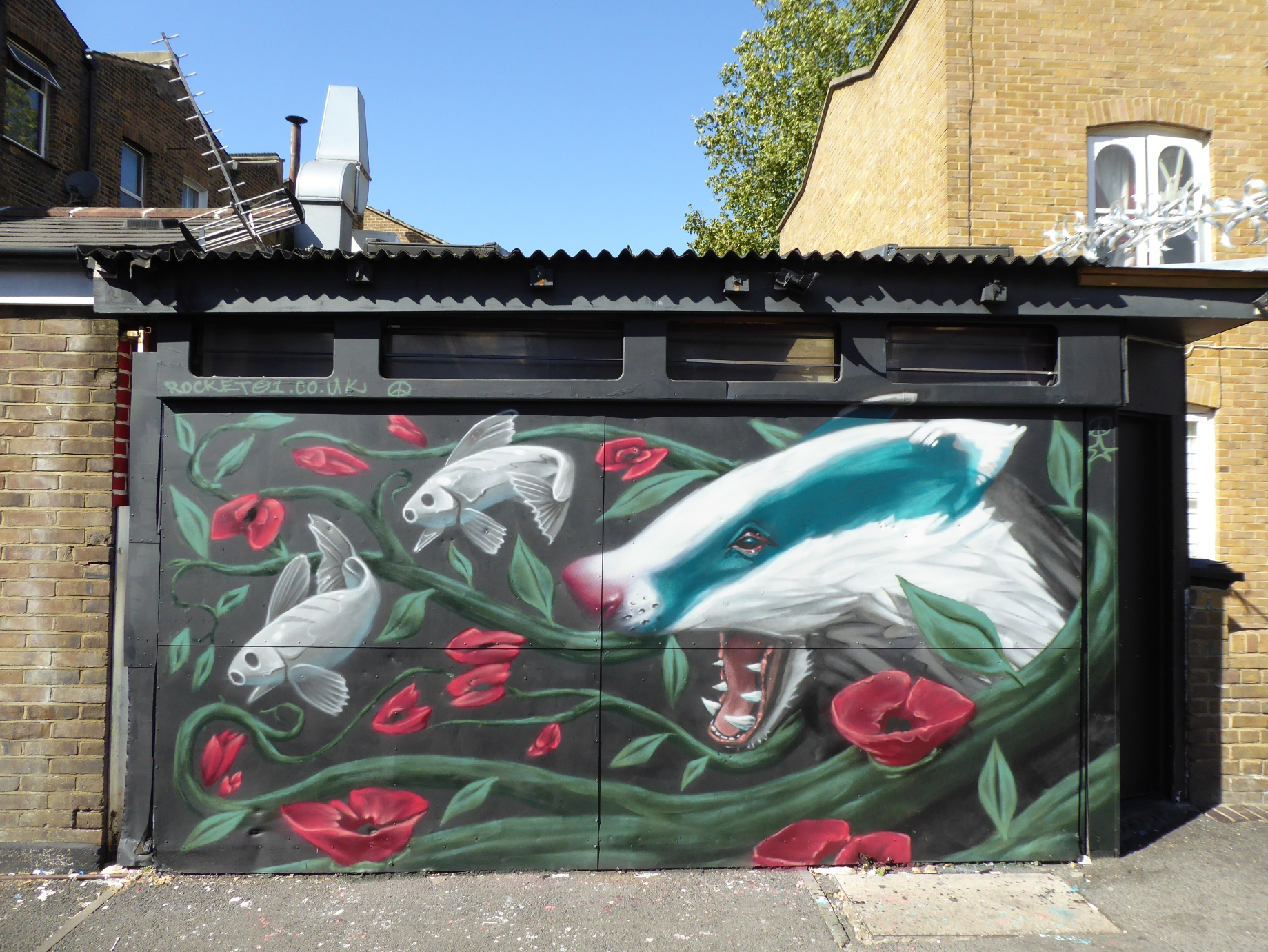2018 a year of street art graffiti in london
