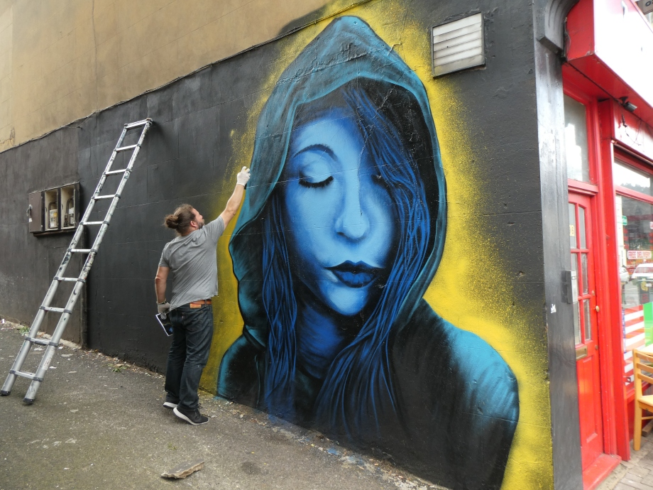 New Sel Street Art in Crystal Palace | London Calling Blog